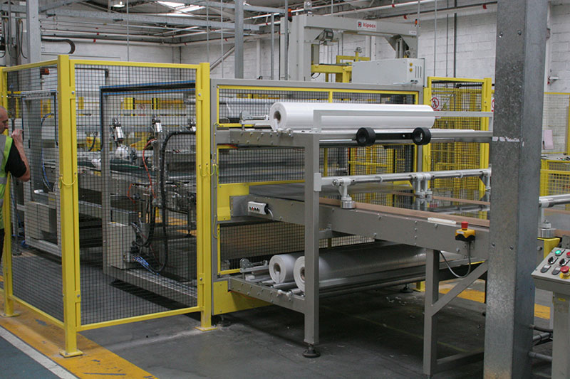 Shrink Wrap Machine for Howden Kitchens