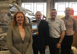 Local MP Visits Shrinkwrap to Celebrate their 50th Anniversary