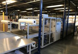 Shrink wrap machine offers a high degree of flexibility
